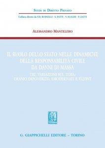 Copertina di 'Il ruolo dello Stato nelle dinamiche della respondabilità civile da danni di massa'