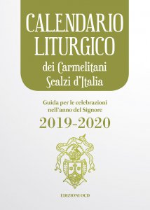 Copertina di 'Calendario liturgico 2020 dei Carmelitani Scalzi d'Italia'