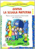 Evviva la scuola materna poesie recite lavoretti - Libri di scuola materna stampabili gratuitamente ...