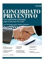 Concordato preventivo con continuità aziendale 2016 - S. Tsembertzis,  Giuseppe Acciaro