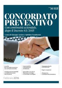 Copertina di 'Concordato preventivo con continuità aziendale 2016'