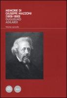 Memorie di Giuseppe Mazzoni (1808-1880) - Adilardi Guglielmo