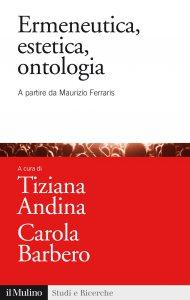 Copertina di 'Ermeneutica, estetica, ontologia'