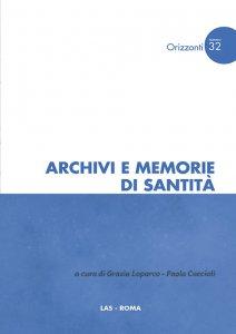 Copertina di 'Archivi e memorie di santità'