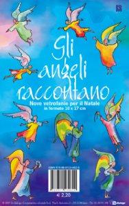 Copertina di 'Gli angeli raccontano. Nove vetrofanie per il Natale'