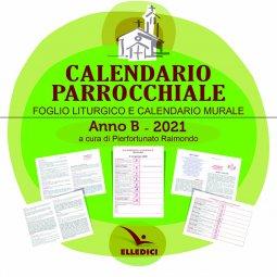 Copertina di 'Calendario parrocchiale. Anno B 2021. CD-ROM'