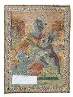 """Immagine di 'Arazzo sacro """"Madonna Aldobrandini"""" - dimensioni 65x53 cm'"""