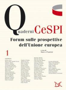 Copertina di 'Forum sulle prospettive dell'Unione europea'