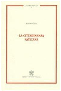 Copertina di 'La cittadinanza vaticana'