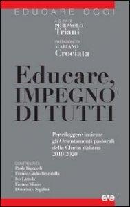 Copertina di 'Educare, impegno di tutti'