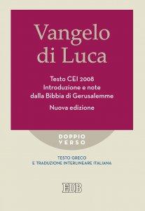 Copertina di 'Vangelo di Luca - Testo CEI 2008'