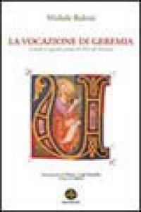 Copertina di 'La vocazione di Geremia secondo il capitolo primo del libro di Geremia'