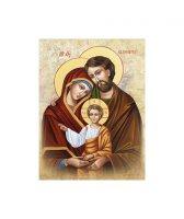 """Quadro su tela """"Sacra Famiglia"""" - dimensioni 26x18 cm"""