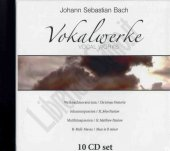 Vokalwerke (10 cd) - Johann Sebastian Bach