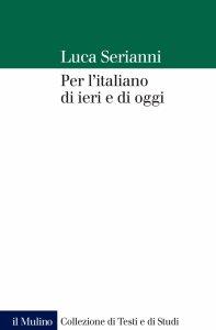 Copertina di 'Per l'italiano di ieri e di oggi'
