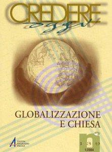 Copertina di 'Globalizzazione e Chiesa'