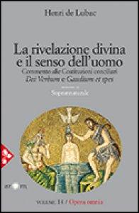 Copertina di 'La rivelazione divina e il senso dell'uomo'