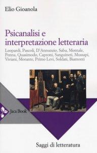 Copertina di 'Psicanalisi e interpretazione letteraria'