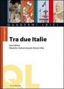 Copertina di 'Tra due Italie'