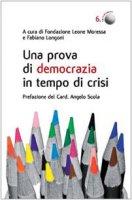 Una prova di democrazia in tempo di crisi. Processi di democrazia deliberativa: il caso di Venezia
