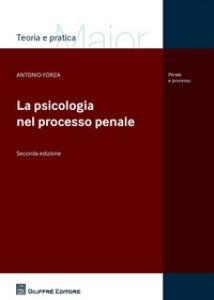 Copertina di 'La psicologia nel processo penale'