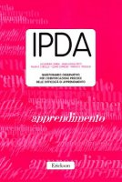 IPDA. Questionario osservativo per l'identificazione precoce delle difficoltà di apprendimento