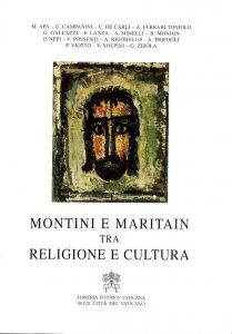 Copertina di 'Montini e Maritain. Tra religione e cultura'