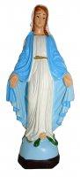 Statua da esterno Madonna Immacolata Miracolosa in materiale infrangibile dipinta a mano cm 16