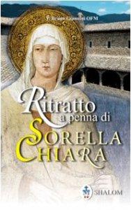 Copertina di 'Ritratto a penna di sorella Chiara'