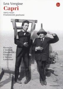 Copertina di 'Capri 1905-1940. Frammenti postumi'