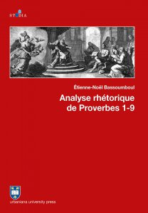 Copertina di 'Analyse rhétorique de Proverbes 1-9'