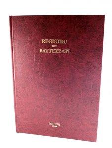 Copertina di 'Registro dei battezzati (238  pg.)'