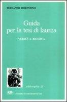 Guida alla tesi di laurea - Fiorentino Fernando