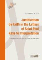 Justification by faith in the letters of Saint Paul keys interpretation.