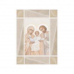 """Copertina di 'Quadro in legno MDF """"Sacra Famiglia"""" - dimensioni 20x25 cm'"""