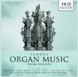 Copertina di 'Famous organ music from europe'