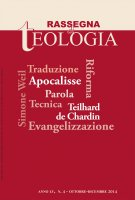 Rassegna di Teologia n. 4/2014