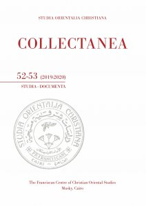 Copertina di 'Collectanea 52-53 (2019-2020). Studia-documenta'