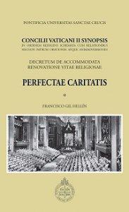 Copertina di 'Concilii Vaticani II Synopsis. Perfectae caritatis'