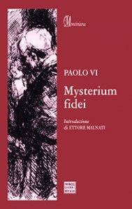 Copertina di 'Mysterium fidei.'