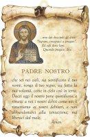 "Tavoletta sagomata ""Padre nostro"" - Gesù"