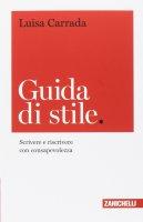 Guida di stile - Luisa Carrada
