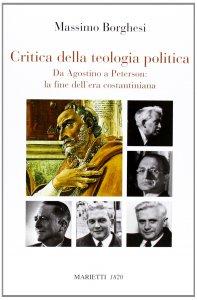 Copertina di 'Critica della teologia politica'