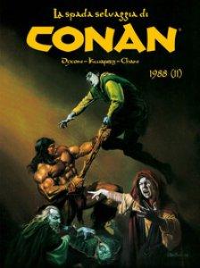 Copertina di 'La spada selvaggia di Conan (1988)'