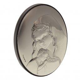 """Copertina di 'Quadretto in argento """"Madonna della Tenerezza""""'"""
