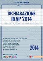 Dichiarazione Irap 2014 - Gioacchino Pantoni, Claudio Sabbatini, Nicola Dell'Isola, Massimiliano De Bonis