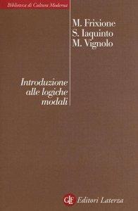 Copertina di 'Introduzione alle logiche modali'