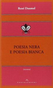Copertina di 'Poesia nera e poesia bianca.'