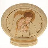 Ovale Sacra Famiglia (15,5 x 12,5)