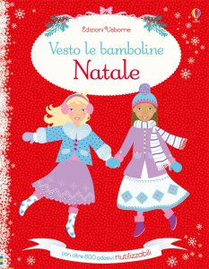 Copertina di 'Vesto le bamboline per Natale'